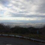 バレンタインデー、十三峠に散る 74.0km